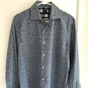 Men's Saks Fifth Avenue Black Label Dress Shirt
